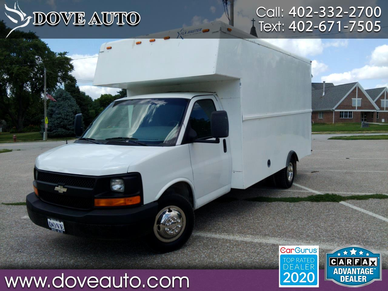 "Chevrolet Express Commercial Cutaway 159"" WB C7A DRW 2008"