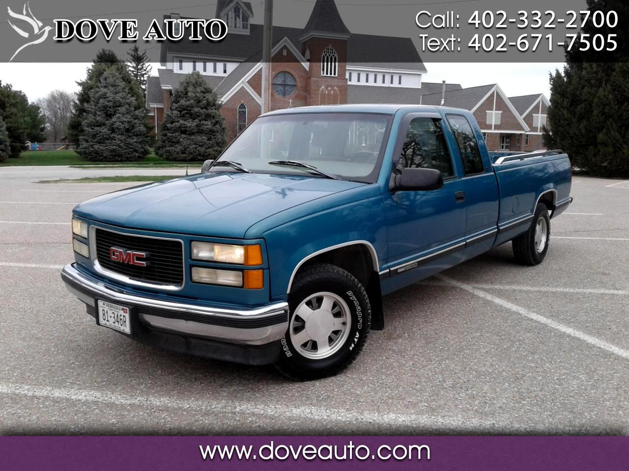 GMC Sierra C/K 1500 Ext. Cab 8-ft. Bed 2WD 1998