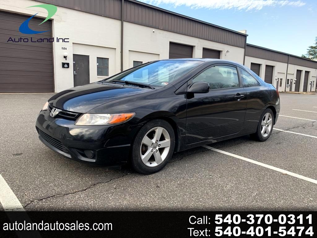 Honda Civic EX Coupe AT 2007