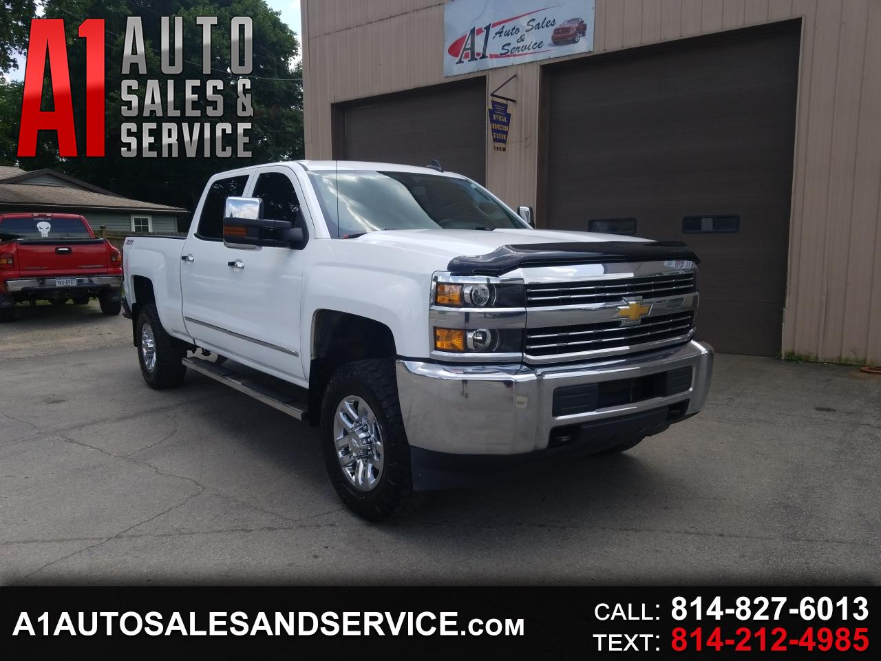 2015 Chevrolet Silverado 2500HD LT Crew Cab Short Box 4WD