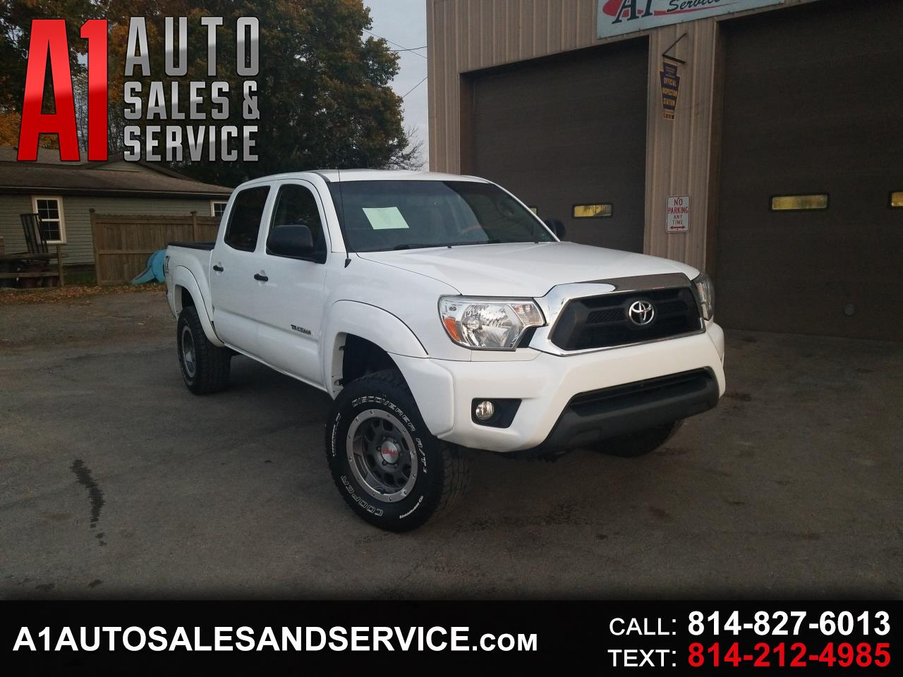 Toyota Tacoma 4WD TRD Off Road Double Cab 5' Bed V6 AT (Natl) 2014