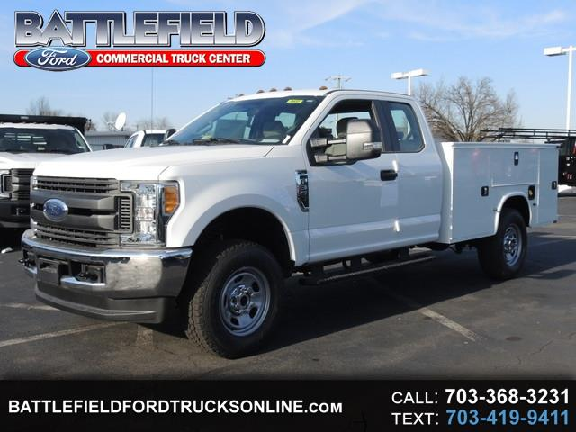 2017 Ford F-350 SD SuperCab 4x4 XL w/ 9' Service Body