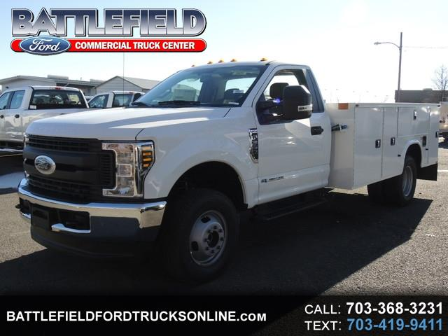 2018 Ford Super Duty F-350 DRW Reg Cab 4x4 XL w/11' Utility Body