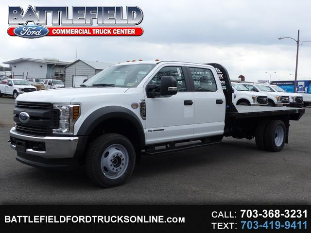 2018 Ford F-550 Crew Cab 4x4 XL w/12' Flat Bed