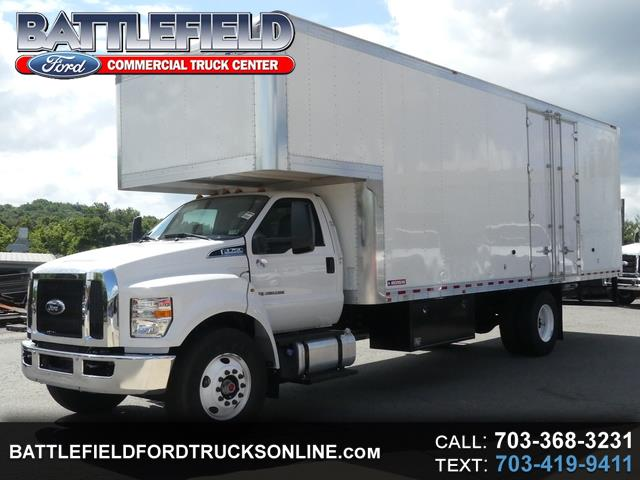 2017 Ford F-750 Reg Cab XL 25,999 GVWR w/26' Moving Van Body