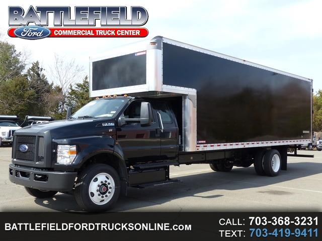 2018 Ford F-750 Reg Cab 25,999 GVWR w/26' Moving Van