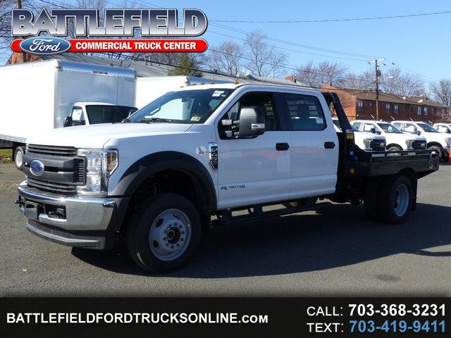 2018 Ford F-450 SD Crew Cab 4x4 w/9' Hauler Body