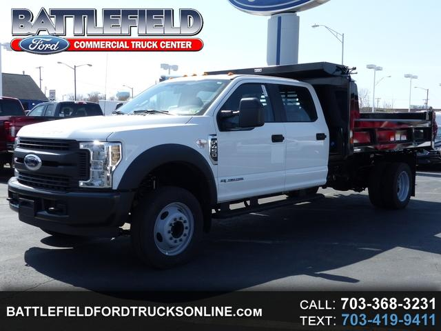 2018 Ford F-450 SD Crew Cab XL w/11' Dump Body