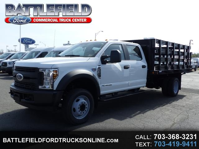 2018 Ford F-450 SD Crew Cab w/12' Stake Body