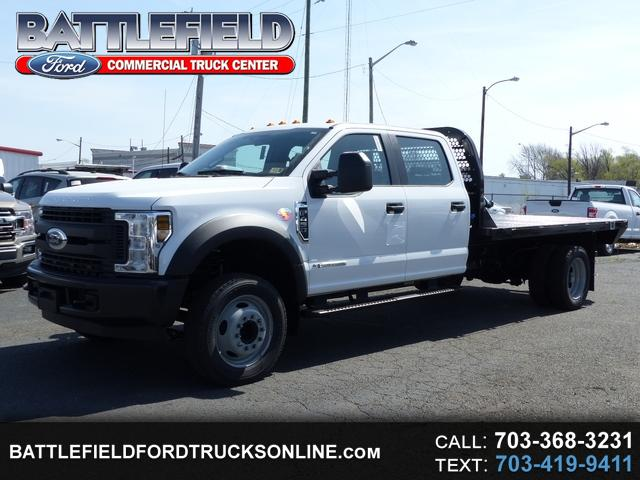 2018 Ford F-450 SD Crew Cab w/12' Flat Bed