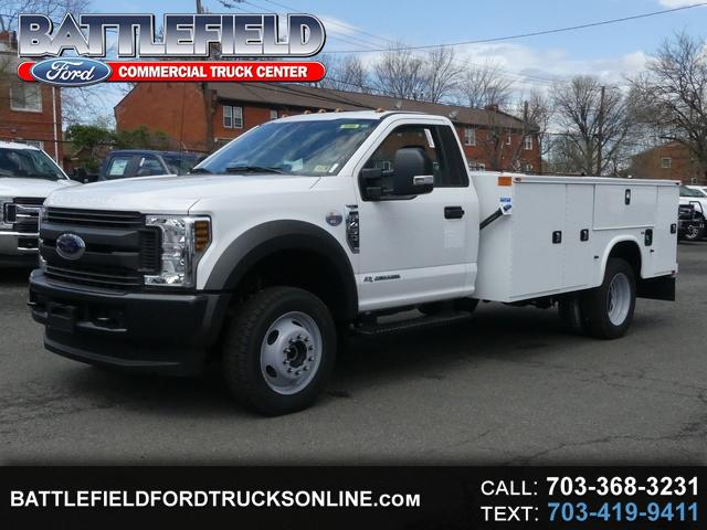 2018 Ford F-450 SD Reg Cab 4x4 XL w/11' Utility Body