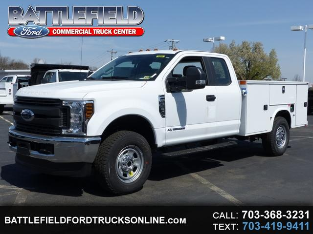 2018 Ford F-350 SD SuperCab 4x4 XL w/9' Utility Body