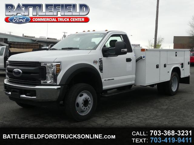 2018 Ford F-550 Reg Cab XL w/11' Utillity Body