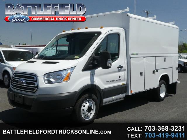 2018 Ford Transit Commercial Cutaway w/11' Aluminum Enclosed Utility
