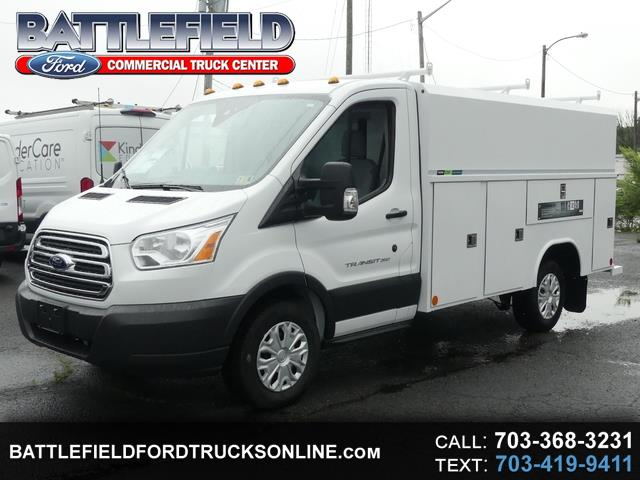 2018 Ford Transit Cutaway w/ 11' Aluminum Enclosed Utility Body