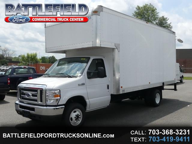 2018 Ford Econoline Commercial Cutaway w/17' Dry Freight Body