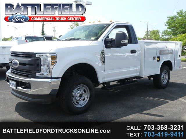 2018 Ford F-250 SD Reg Cab 4x4 XL w/ 8' Utility Body