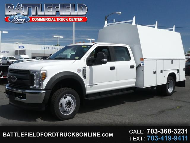 2018 Ford F-550 Crew Cab 4X4 w/ 11' Enclosed Utility Body