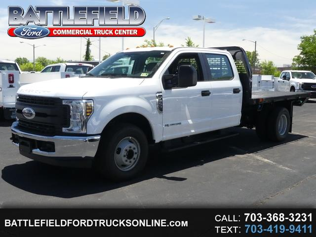 2018 Ford Super Duty F-350 DRW Crew Cab XL w/ 10' Flat Bed