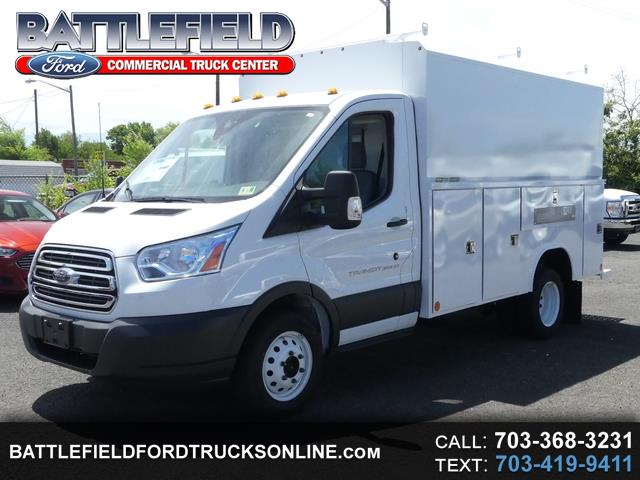 2018 Ford Transit Commercial Cutaway w/ 11' Enclosed Alum Utility Bo