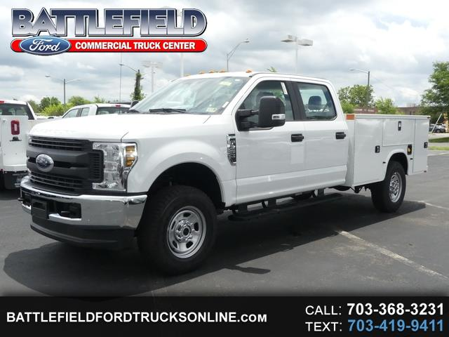 2018 Ford Super Duty F-350 SRW Crew Cab 4x4 XL w/9' Utility Body