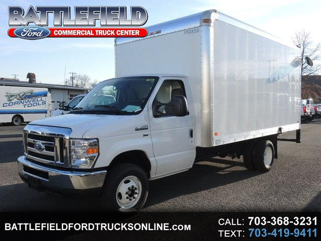 2017 Ford E-350 Commercial Cutaway w/15' Dry Freight Body