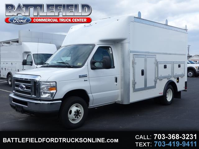 2018 Ford E-350 Commercial Cutaway w/12' Enclosed Utility Body