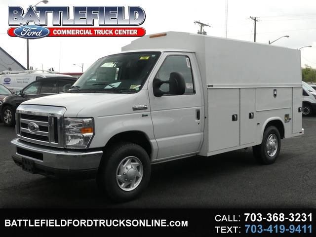 2018 Ford E-350 Commercial Cutaway w/11' Enclosed Utility Body