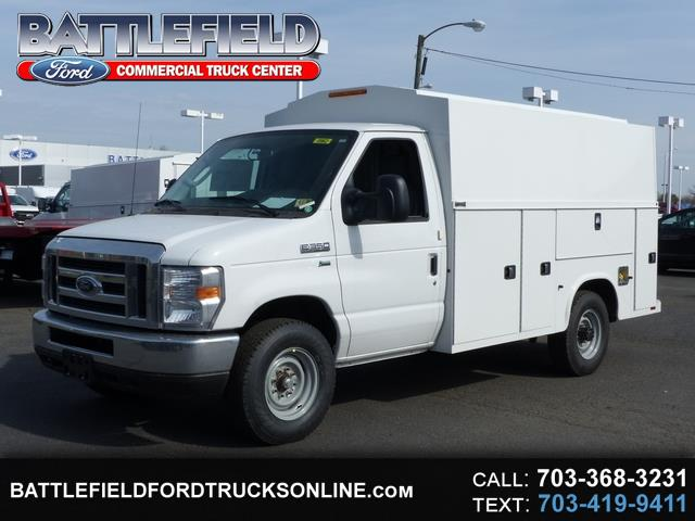 2018 Ford E-350 Commercial Cutaway w/11' Enclosed Service Body