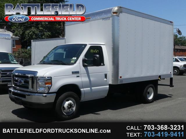 2018 Ford E-350 Commercial Cutaway w/12' Dry Freight Box