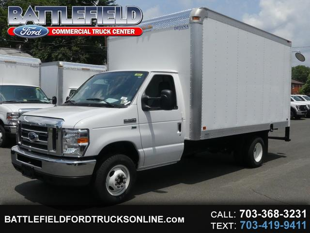 2018 Ford E-350 Commercial Cutaway w/ 14' Dry Freight Box