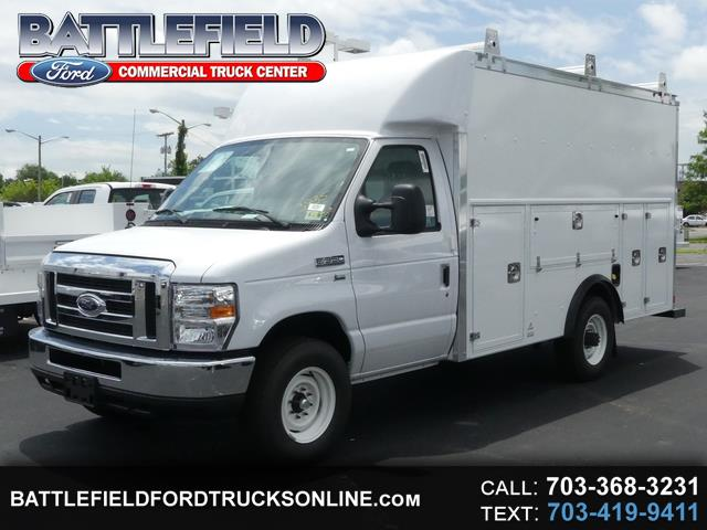 2018 Ford E-350 Commercial Cutaway w/ 12' Enclosed Utility Body