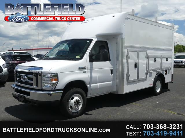 2018 Ford E-Series Cutaway Commercial Cutaway w/11' Enclosed Utility Body