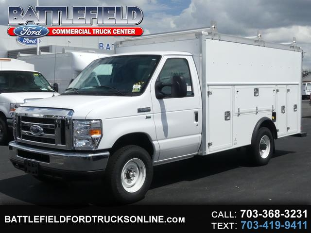 2018 Ford E-Series Cutaway Commercial Cutaway w/12' Enclosed Utility Body