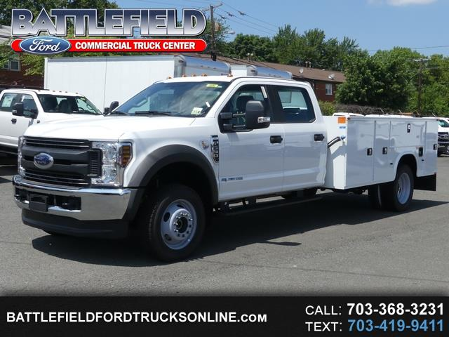2018 Ford F-550 Crew Cab 4x4 XL w/ 11' Service Body