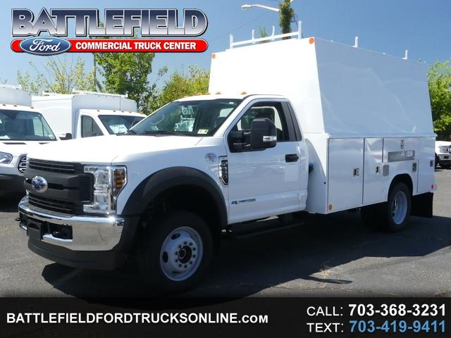 2018 Ford F-550 Reg Cab 4x4 XL w/ 11' Enclosed Service Body