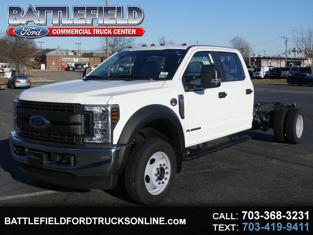 2019 Ford F-550 Crew Cab 4x4 XL Chassis Cab