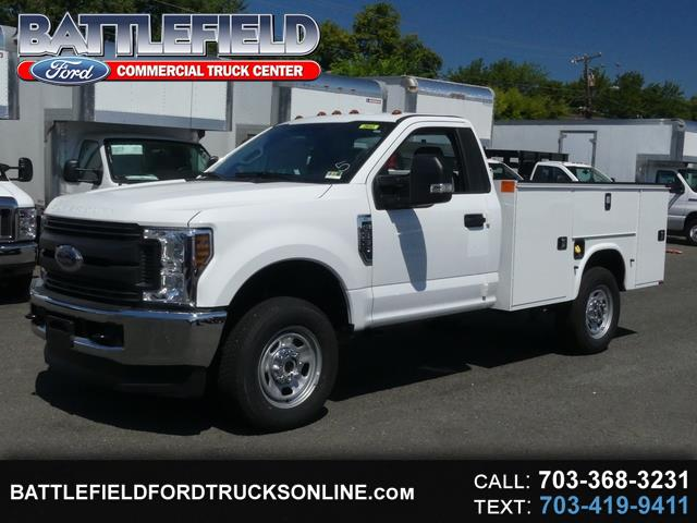 2018 Ford F-350 SD Reg Cab 4x4 XL w/ 9' Service Body & Liftgate