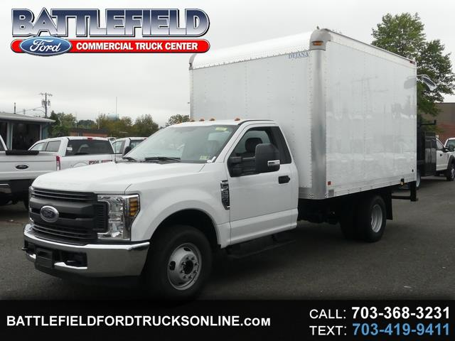 2018 Ford F-350 SD Reg Cab XL w/ 12' Dry Freight Box