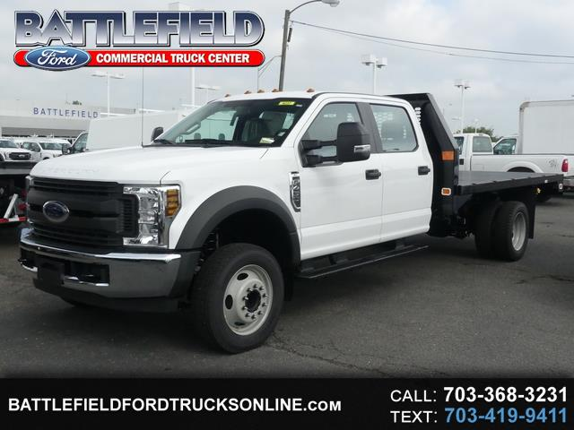 2019 Ford Super Duty F-450 DRW Crew Cab XL w/ 12' Flatbed