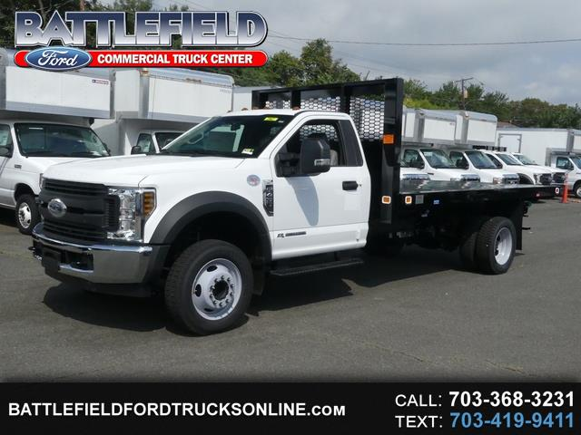 2018 Ford F-450 SD Reg Cab XL w/ 14' Flatbed