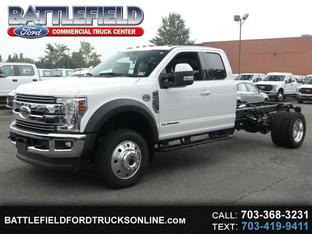 2019 Ford F-550 SuperCab 4x4 Lariat Chassis Cab