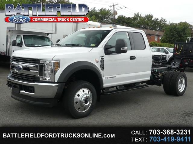 2019 Ford F-550 SuperCab 4x4 XLT Chassis Cab