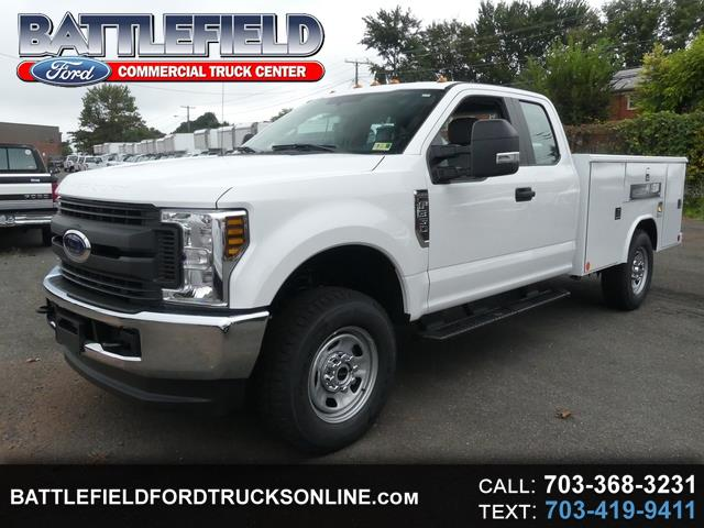 2019 Ford F-350 SD SuperCab 4x4 XL w/ 9' Service Body