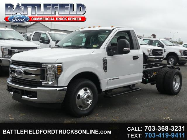 2019 Ford F-350 SD Reg Cab XLT Chassis Cab