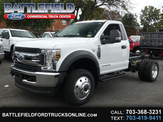 2019 Ford F-450 SD Reg Cab 4x4 XLT Chassis Cab