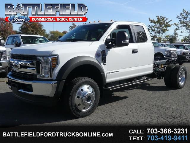 2019 Ford F-450 SD SuperCab 4x4 XLT Chassis Cab