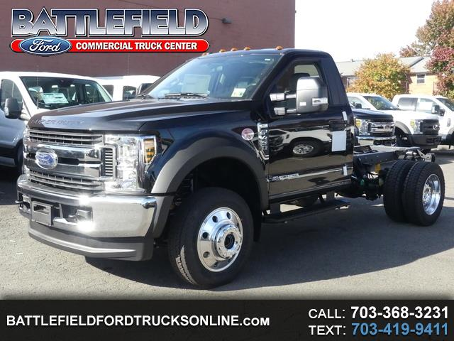 2019 Ford F-450 SD Reg Cab XLT 4x4 Wrecker Chassis