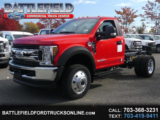 2019 Ford F-450 SD Reg Cab 4x4 XLT Wrecker Chassis