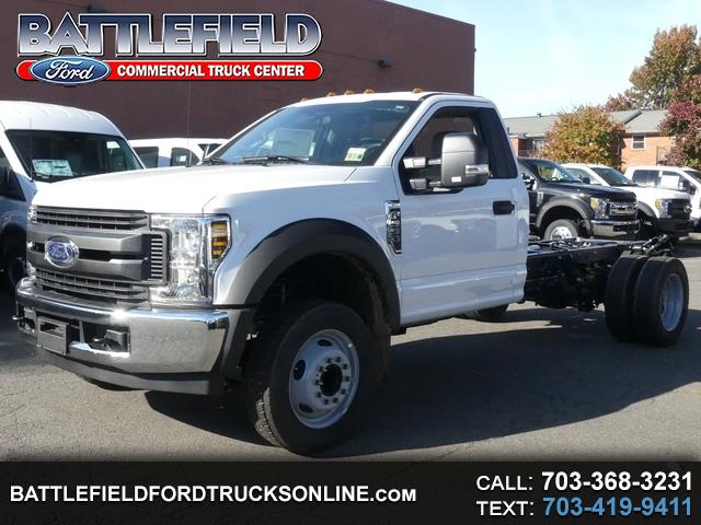 2019 Ford F-550 Reg Cab XL Chassis Cab